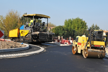 Eddy Fournier SA - central Valais - roadworks - civil engineering - asphalt